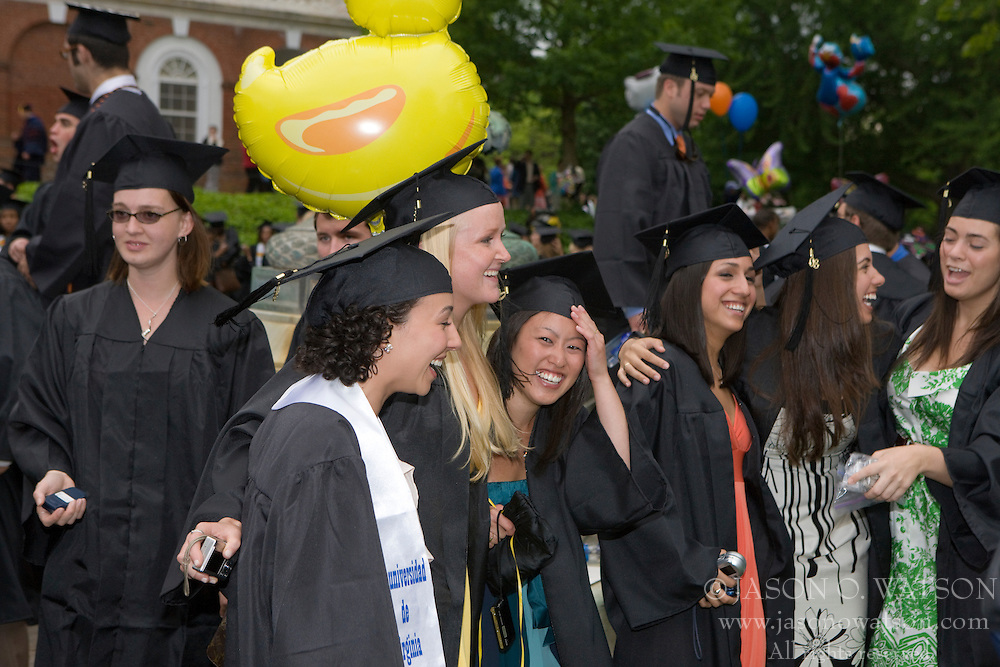 The 178th Final Exercises / Graduation Ceremony at the University of Virginia was held on The Lawn in Charlottesville, VA on May 2008.