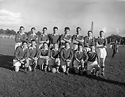 19/10/1957<br /> 10/19/1957<br /> 19 October 1957<br /> All Army Football Championship: Eastern Command v Southern Command at the Phoenix Park, Dublin. The Eastern Command team.
