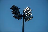 AMSTELVEEN - lichtmast, led, verlichting, tijdens de competitie hoofdklasse hockeywedstrijd heren, Pinoke-Amsterdam (1-1)   COPYRIGHT KOEN SUYK