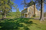 Greenwood Furnace State Park, Iron Master's House, Huntingdon Co., PA