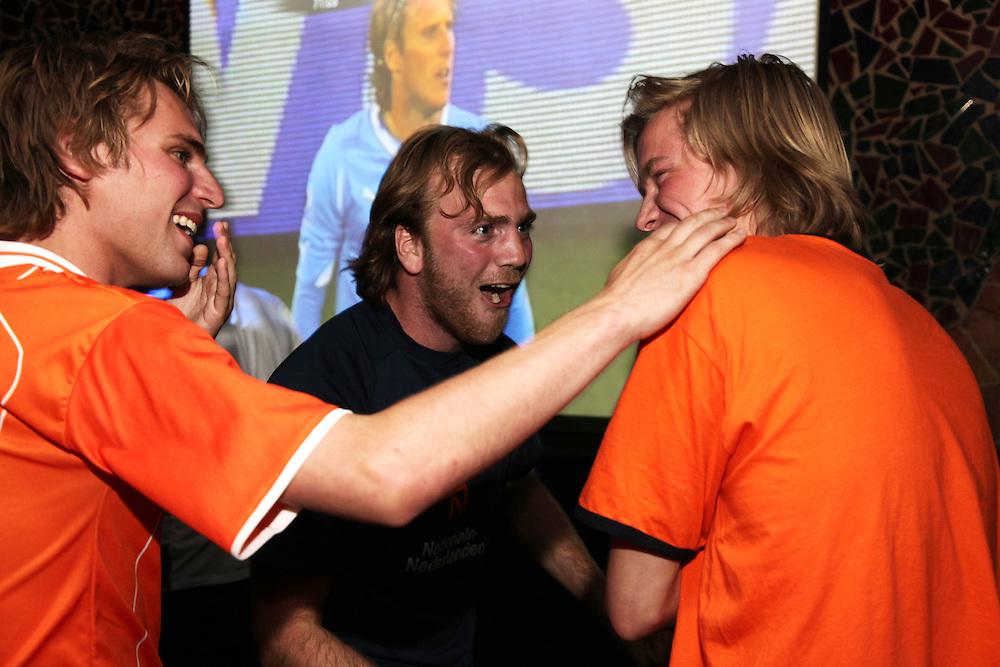 Uruguay v Holland at Zoo BAr and De Hems.<br /> <br /> Copyright: Jonathan Goldberg