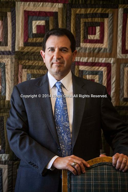 Mark Minichiello, CEO of Quincy Cass Associates, Inc.(Photo by Ringo Chiu/PHOTOFORMULA.com)