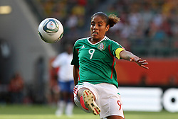27-06-2011 VOETBAL: FIFA WOMENS WORLDCUP 2011 MEXICO - ENGLAND: WOLFSBURG<br />  Maribel Dominguez (MEX)<br /> ***NETHERLANDS ONLY***<br /> ©2011-FRH- NPH/Hessland