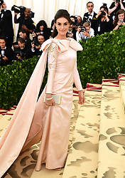 Ariana Rockefeller attending the Metropolitan Museum of Art Costume Institute Benefit Gala 2018 in New York, USA. PRESS ASSOCIATION Photo. Picture date: Monday May 7, 2018. See PA story SHOWBIZ MET Gala. Photo credit should read: Ian West/PA Wire