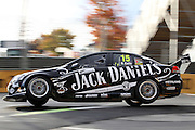 Rick Kelly (Jack Daniel's Racing). ITM 400 ~ Race 5 & 6 of the 2011 V8 Supercar Championship Series. Hamilton Street Circuit on Friday 15 April 2011. Photo © Clay Cross / PHOTOSPORT
