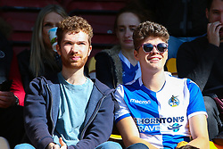 Bristol Rovers fans - Mandatory by-line: Ryan Crockett/JMP - 29/09/2018 - FOOTBALL - Northern Commercials Stadium - Bradford, England - Bradford City v Bristol Rovers - Sky Bet League One