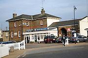 Railway station and tourist information office, Woodbridge, Suffolk