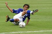 Belo Horizonte_MG, Brasil...Jogador do Cruzeiro, Maurinho, na final do Campeonato Brasileiro 2003...The Cruzeiro soccer player, Maurinho, at the end of Brazilian Football Championship 2003...Foto: LEO DRUMOND / NITRO