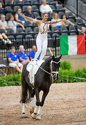 Kay Sarah, GER, Sir Valentin 5, Lunger Dr Menke Dina<br /> World Equestrian Games - Tryon 2018<br /> © Hippo Foto - Stefan Lafrenz<br /> 18/09/18