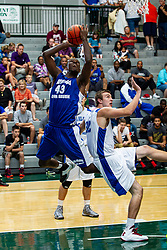 29 June 2013: 43 - Garret Covington. 2013 Boys Illinois Basketball Coaches Association All Start game at the Shirk Center in Bloomington IL