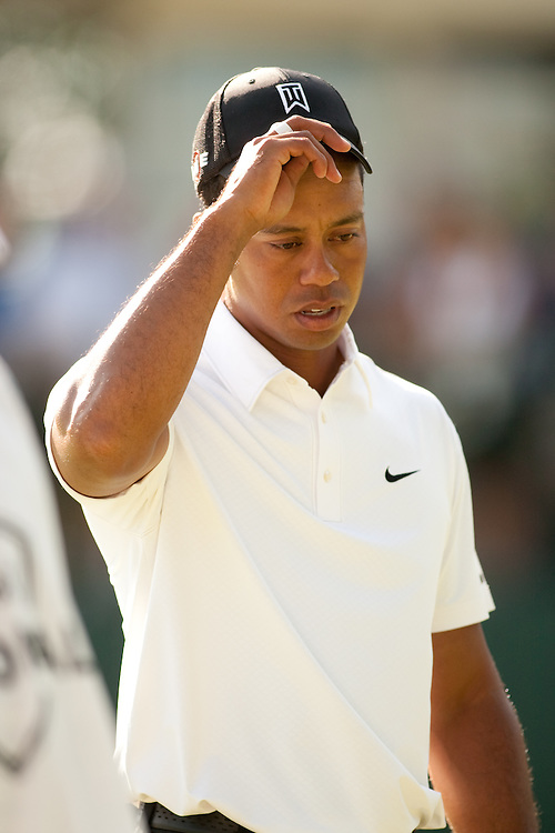 NEWTOWN SQUARE, PA - JULY 1: Tiger Woods during the first round of the AT&T National Classic at Aronimink Golf Club on July 1, 2010 in Newtown Square, Pennsylvania. (Photo by Darren Carroll) *** Local Caption *** Tiger Woods