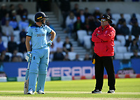Cricket - 2019 ICC Cricket World Cup - Group Stage: England vs. Sri Lanka<br /> <br /> England's Jos Buttler waits on the DRS review which gave him out lbw to Sri Lanka's Lasith Malinga, at Headingley, Leeds<br /> <br /> COLORSPORT/ASHLEY WESTERN