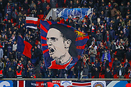Ultras Paris Saint-Germain's supporters with their wave flags of Edinson Roberto Paulo Cavani Gomez (psg) (El Matador) (El Botija) (Florestan) in stand during the French Cup, round of 32, football match between Paris Saint-Germain and EA Guingamp on January 24, 2018 at Parc des Princes stadium in Paris, France - Photo Stephane Allaman / ProSportsImages / DPPI