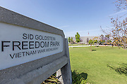 Sid Goldstein Freedom Park Vietnam War Memorial