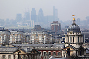 View of the Royal Naval College from Greenwich Park