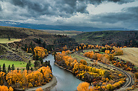 Yakima River Valley, Ellensburg, Washington