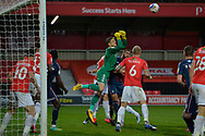 Vaclac Hladky during the EFL Sky Bet League 2 match between Salford City and Bradford City at the Peninsula Stadium, Salford, United Kingdom on 21 November 2020.