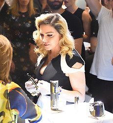 """Madonna shows her MDNA skincare line inside the """"Barney's"""". 26 Sep 2017 Pictured: Madonna. Photo credit: STB / MEGA TheMegaAgency.com +1 888 505 6342"""