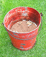 Maybe this isn't the correct usage of the fire bucket<br /> <br /> Photographer Dave Howarth/CameraSport<br /> <br /> The EFL Sky Bet League One - Fleetwood Town v Coventry Town - Saturday 3 September 2016 - Highbury Stadium - Fleetwood<br /> <br /> World Copyright © 2016 CameraSport. All rights reserved. 43 Linden Ave. Countesthorpe. Leicester. England. LE8 5PG - Tel: +44 (0) 116 277 4147 - admin@camerasport.com - www.camerasport.com