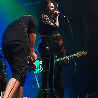 The Haunt:AnastasiaMax open the show for Palaye Royale at Manchester Academy 2, Manchester, United Kingdom, 2018-10-03