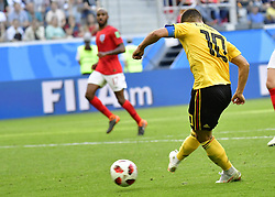 July 14, 2018 - Saint Petersbourg, Russie - SAINT PETERSBURG, RUSSIA - JULY 14 : Eden Hazard midfielder of Belgium during the FIFA 2018 World Cup Russia Play-off for third place match between Belgium and England at the Saint Petersburg Stadium on July 14, 2018 in Saint Petersburg, Russia, 14/07/18 (Credit Image: © Panoramic via ZUMA Press)