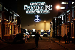 A general view of Goodison Park - Mandatory byline: Matt McNulty/JMP - 07966386802 - 07/12/2015 - FOOTBALL - Goodison Park -Liverpool,England - Everton v Crystal Palace - Barclays Premier League