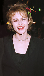 Actress HELENA BONHAM-CARTER at a dinner in London on 4th March 1999.<br /> MPA 50 WORO