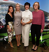 25/09/2018 Repro free:   Sinead Cassidy from the Galway Race Course with Chairpesron of the National Breast Cancer Research Institute, Patricia McLoughlin<br /> Ger Lally and Patricia Kennedy, National Breast Cancer Research Institute at the launch of Galway Racecourse  details of their new and exciting three-day October Festival that takes place over the Bank Holiday weekend, Saturday 27th, Sunday 28th and Monday 29th continuing racing and glamour into the Autumn.<br />   Each of the three race days offers something for all the family to enjoy, with a special theme attached to each day, together with fantastic horse racing, live music, delicious hospitality, entertainment and of course the meeting of old friends and new at Ballybrit.  <br /> Halloween Family Fun <br /> On Saturday 27th October come along with your children and grand children and enjoy the 'Spooktacular' Halloween themed family fun day with lots of entertainment including a fancy-dress competition, Halloween games and face painting to mention but a few!! All weekend children under 16 years of age have free admission. <br /> Race in Pink <br /> As part of this new October Festival and with-it being Breast Cancer Awareness month, Galway Racecourse have partnered with The National Breast Cancer Research Institute to host a dedicated fundraiser on Sunday 28th October called 'Race in Pink'.  <br /> <br /> Student Race Day in aid of the Voluntary Services Abroad <br /> Monday sees the return of our annual 'Student Race Day' in conjunction with the Voluntary Services Abroad (a medical aid charity run by the fourth-year medical students of NUI, Galway), and the NUIG Rugby Club.  Each year, this fundraising day for the student organisations raises a tremendous amount of money for their chosen projects including the VSA annual summer volunteer trip to Africa where they use the funds raised to help projects at the hospitals they visit. <br />  National hunt racing on Saturday kicks off at 2.05pm with racing Su
