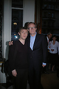 Martin Freeman and Bill Nighy. Marks and Spencer celebrate the launch of the new men's Autograph collection. Fifty Below. 50 St. James's St. London. SW1. 7 September 2005. ONE TIME USE ONLY - DO NOT ARCHIVE  © Copyright Photograph by Dafydd Jones 66 Stockwell Park Rd. London SW9 0DA Tel 020 7733 0108 www.dafjones.com