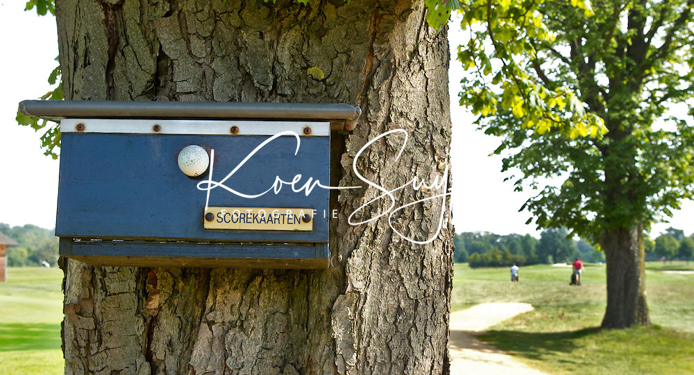 UTRECHT - Scorekaart bakje. Golfclub Amelisweerd.  COPYRIGHT KOEN SUYK