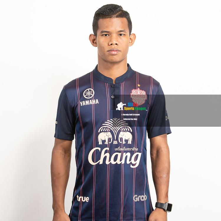 THAILAND - JUNE 26: Sasalak Haiprakhon #6 of Buriram United on June 26, 2019.<br /> .<br /> .<br /> .<br /> (Photo by: Naratip Golf Srisupab/SEALs Sports Images/MB Media Solutions)