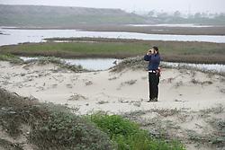 Sandi Matsumoto On Survey Of Orond Beach Dune & Marsh
