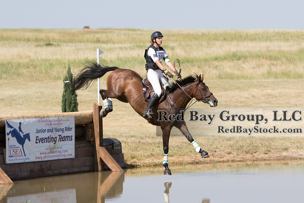 Ruairi Smith and Fernhill Gucci at the 2016 Adequan FEI North American Junior and Young Rider Championships in Parker, Colorado.