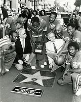 1987 The Harlem Globetrotters' Walk of Fame ceremony