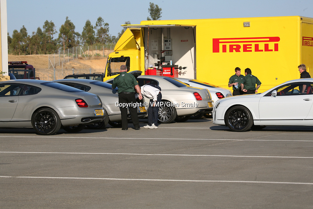 2009 Bentley Supersports Coupe, Bentley Supersports Launch, Monteblanco Seville Spain