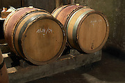 barrel aging cellar domaine protheau mercurey burgundy france