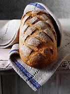 Artisan organic Sour Dough  bread loaf