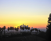 Los Angeles Skyline, California (LA)