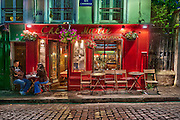 Streets of Montmartre, Paris, France