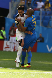 June 22, 2018 - St. Petersburg, Russia - June 22, 2018, Russia, St. Petersburg, FIFA World Cup 2018, First round, Group E, Second round, Brazil - Costa Rica at the St Petersburg stadium. Player of the national team Joao Miranda. (Credit Image: © Russian Look via ZUMA Wire)