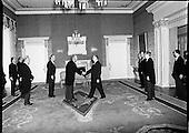 1977 - Czech Ambassador At Aras An Uachtarain.   (L57).