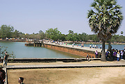 Cambodia, Angkor Wat the mote