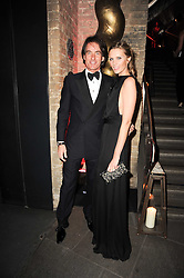 TIM & MALIN JEFFERIES at The Love Ball hosted by Natalia Vodianova and Lucy Yeomans to raise funds for The Naked Heart Foundation held at The Round House, Chalk Farm, London on 23rd February 2010.