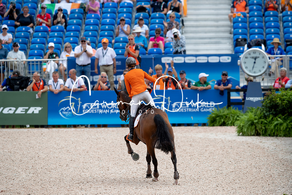 Blom Merel, NED, Rumour Has It<br /> World Equestrian Games - Tryon 2018<br /> © Hippo Foto - Dirk Caremans<br /> 17/09/2018