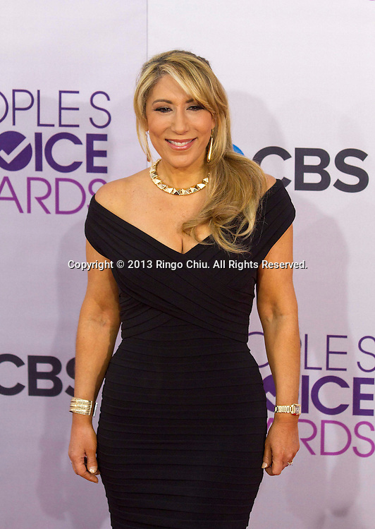 Lori Greiner arrives at the 39th Annual People's Choice Awards at Nokia Theatre L.A. Live on Wednesday January 9, 2013 in Los Angeles, California, United States. (Photo by Ringo Chiu/PHOTOFORMULA.com)
