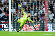 Slovenia (1)Jan Oblak during the FIFA World Cup Qualifier match between England and Slovenia at Wembley Stadium, London, England on 5 October 2017. Photo by Sebastian Frej.