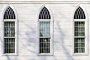 Church window detail.