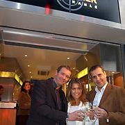 Opening juwelier Trendwatcher door Sylvie Meis, met Rene Kahle en Luc Vossen