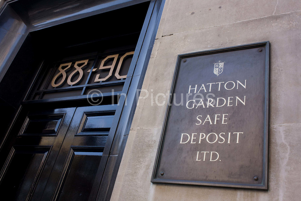 The location in central London where the Hatton Garden safe Deposit company is the scene of one London's most notorious valuables heist in recent years. Over the Easter weekend, jewellery and other items belonging to people from all walks of life and to the value of tens of millions, were ransacked and stolen. The police believe insider knowledge helped the thieves disable security.