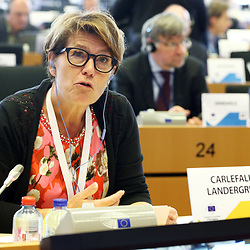 12 May 2017, 123rd Plenary Session of the European Committee of the Regions <br /> Belgium - Brussels - May 2017 <br /> <br /> Mrs CARLEFALL LANDERGREN Ulrika,Member of Kungsbacka Municipal Council, Sweden<br /> <br /> © European Union / Patrick Mascart